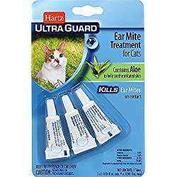 Hartz Ear Mite Treatment for Cats-3 Pack