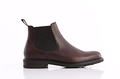 Shoes in Brown Leather, Herren, Taglia 7 Berwick 1707