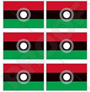 "Malawi malawian Nueva Bandera África Africano 40mm (1,6"") Mobile teléfono celular Mini de vinilo pegatinas, calcomanías x6"