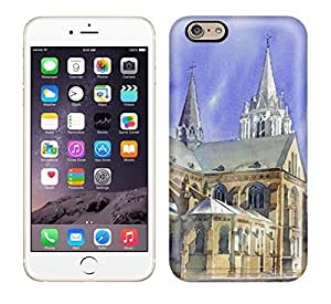 Best Power(Tm) HD Colorful Painted Watercolor Quite Castle Hard Phone Case For Iphone 6