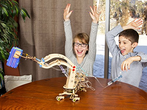 Smartivity Pump It Move It Hydraulic Crane - S.T.E.M., S.T.E.A.M. learning, Ages 8 Years and Up by PlaSmart (Image #5)
