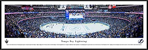 Tampa Bay Lightning - Blakeway Panoramas NHL Posters with Standard Frame (The Dazzle Picture Frames)