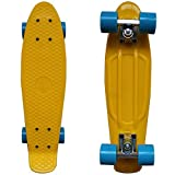 RIMABLE Complete 22' Skateboard YellowBlue