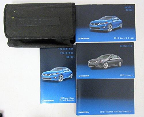 Honda Accord Coupe Manual - 2013 Honda Accord Coupe Owners Manual Guide Book