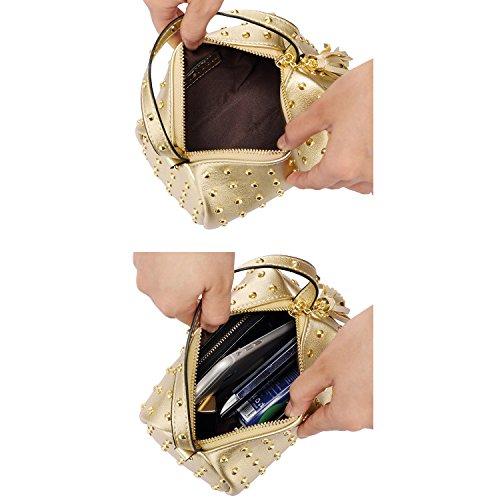 femme main bandoulière bandoulière Sac Sac rouge à main pour pour fille Sac à à main rouge à à fille brun wvFtnX8q
