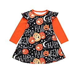 VEKDONE Baby Halloween Outfits Toddler G...