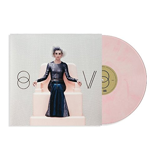 St. Vincent 'St. Vincent' (Pink/White Marbled Vinyl, Ltd. to - La St Vincent