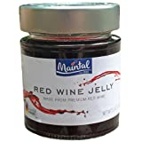 Maintal Red Wine Jelly 4 Pack, 5.3 oz. Jars (Red Wine)