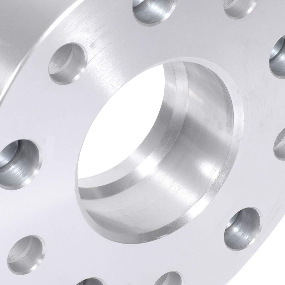 ECCPP 4X 1.5 5 Lug 5x139.7 hub Centric Wheel spacers 5x5.5 to 5x5.5 14x1.5 77.8mm fits for 2012-2017 Ram 1500