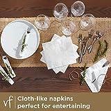Vanity Fair Entertain Paper Napkins, Dinner