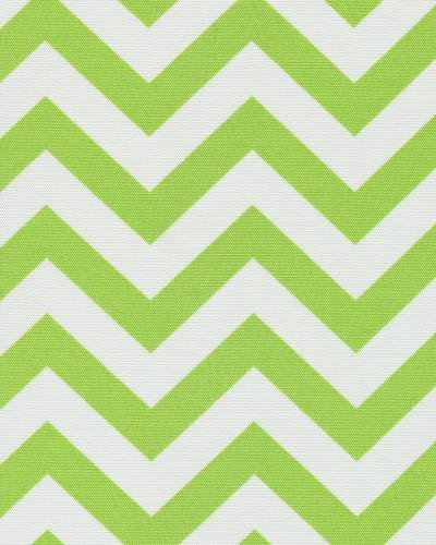54'' CHEVRON LIME INDOOR/OUTDOOR FABRIC By The Yard -