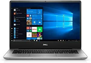 "2019 Dell Inspiron 5000 14"" FHD Laptop Computer, AMD Ryzen 5 3500U Quad-Core Up to 3.7GHz, 8GB DDR4 RAM, 256GB PCIe SSD, 802.11ac WiFi, Bluetooth, USB Type-C, HDMI, Platinum Silver, Windows 10 Home"