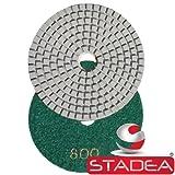 "Diamond Polishing Pads 4"" inch Wet/Dry Set of"