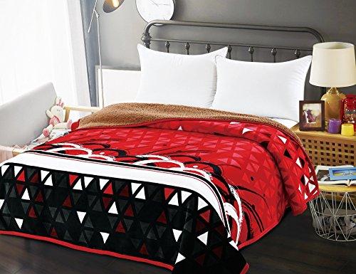 Osaka Amber A&M Soft Comfort Fleece Bed Sherpa Blanket Machi