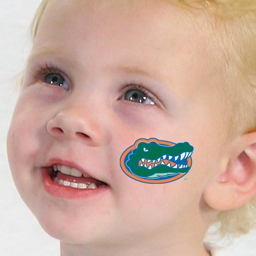 (NCAA Florida Gators Team Logo Temporary Tattoos )