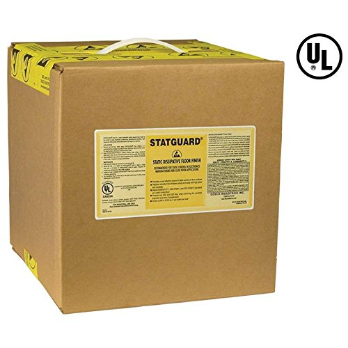 Statguard Dissipative Bag-In-Box Floor Finish, 5 Gallons
