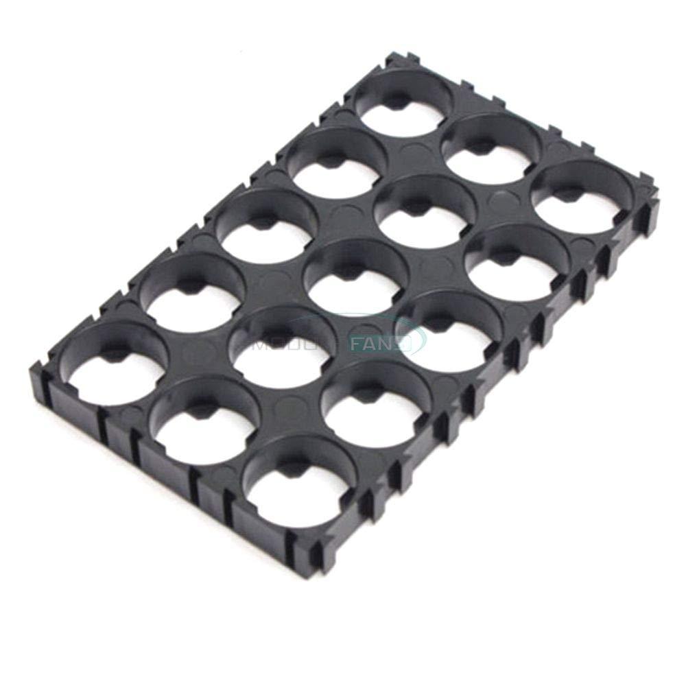 2pcs 3x5 Cell 18650 Batteries Spacer Radiating Shell Plastic Heat Holder Bracket