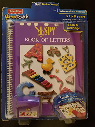PowerTouch Learning System Book & Cartridge: I Spy - Book of Letters