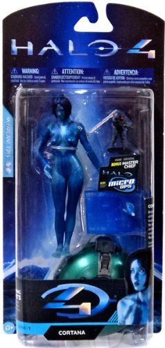 Halo 4 McFarlane Toys Exclusive Series 1 Action Figure Cortana