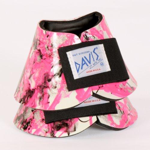 Davis Artisan Medium Neon Pink No-Turn Bell Boots