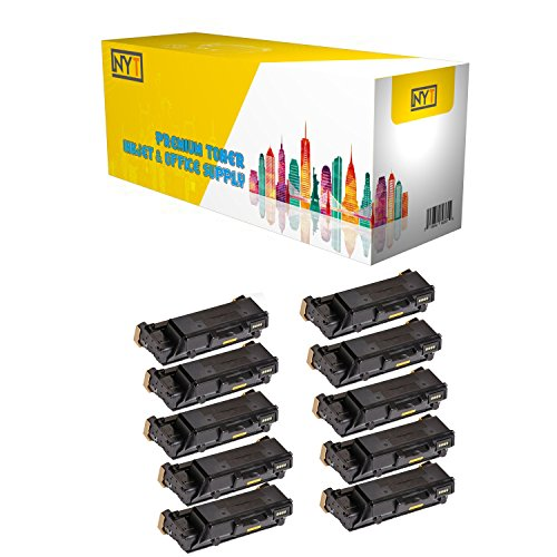 (New York TonerTM New Compatible 10 Pack 106R03624 High Yield Toner for Xerox - Phaser 3330 WorkCentre 3335 3345 . -- Black)