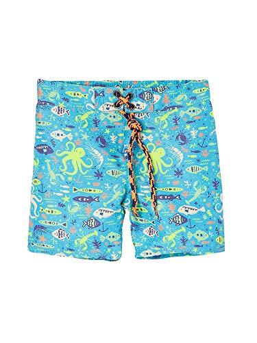 OFFCORSS Baby Boy Swimming Short Trunks Bathing Suit Summer Beach Month Clothing UV Protection Trajes de Baño de Verano para Bebe Varon Yellow 3/6M