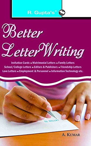 Buy Better Letter Writing (Two Colour) Book Online at Low Prices