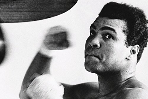 Muhammad Ali Punching Bag Training Poster 13x19