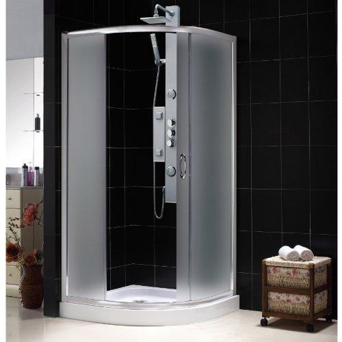 DreamLine Solo Frameless Sliding Shower Enclosure and