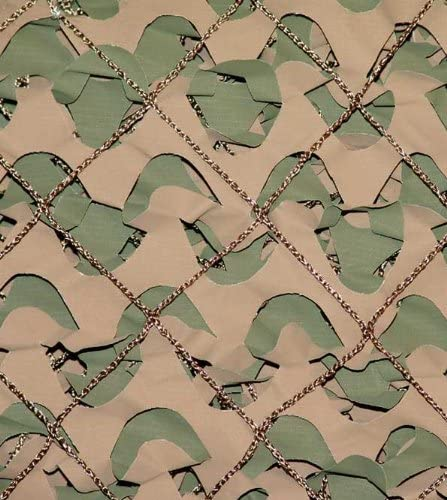 3x2.4m Crazy Camo Netting Army Camouflage Screen Net Party Blind Hide Sky Blue