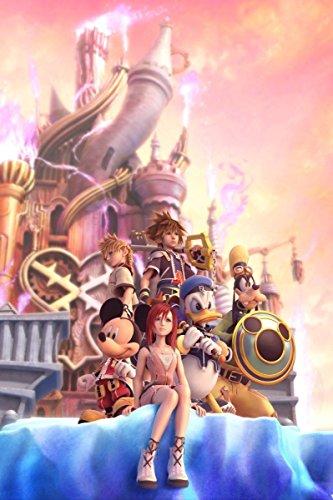 Kingdom Hearts Boy 1 2 poster 36 inch x 24 inch / 20 inch x