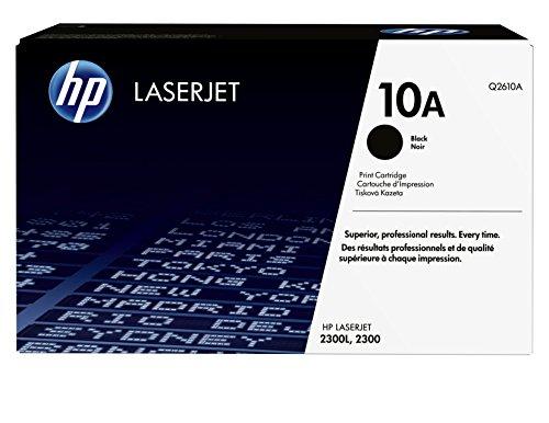 HP 10A (Q2610A) Black Original LaserJet Toner Cartridge