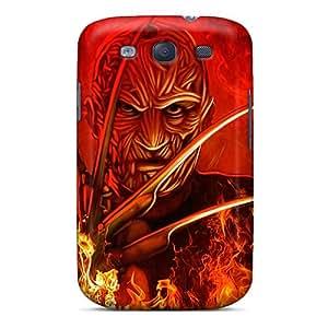 New Premium Flip Case Cover Freddy Krueger Skin Case For Galaxy S3