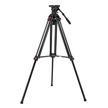 Serounder Trípode de Metal para cámara Profesional, 15 kg, Soporte ...