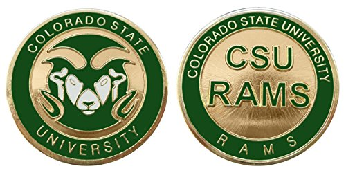 Colorado State University Rams Challenge Coin by Coin and Coins