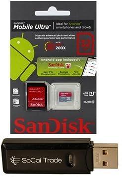 Amazon.com: 32 GB SanDisk Tarjeta de memoria microSDHC ...