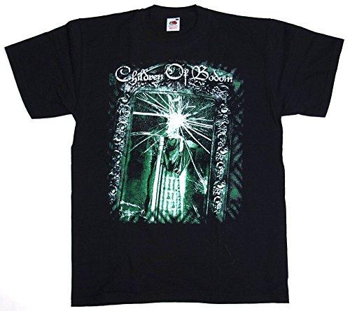 T-Shirt Children Of Bodom Nr. 3 Baumwolle Premium Qualität beidseitig Siebdruck erhältlich in den Größen S, M, und L