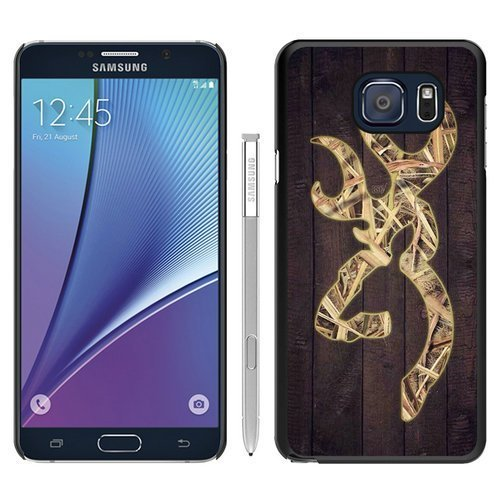 Samsung Galaxy Note 5 Case,Camo Browning Logo Black Samsung Galaxy Note 5 Phone Case CHG CASE by CHG CASE