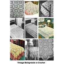 31 Vintage Bedspread Patterns to Crochet - A Collection of Vintage Bedspreads Crochet Patterns