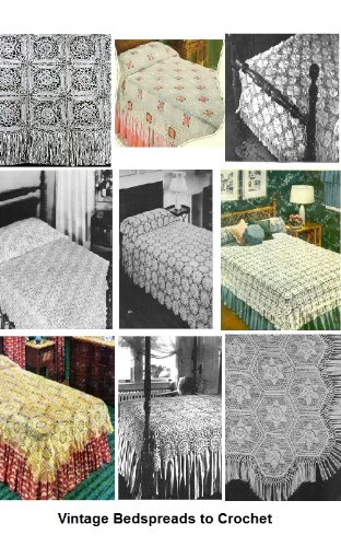 Amazon 31 Vintage Bedspread Patterns To Crochet A Collection