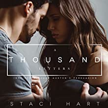 A Thousand Letters Audiobook by Staci Hart Narrated by Lance Greenfield, Susannah Jones