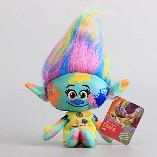 Good DREAMWORKS TROLLS Hug 'n Plush HARPER Doll Soft Stuffed Toy 11'' Teddy NWT