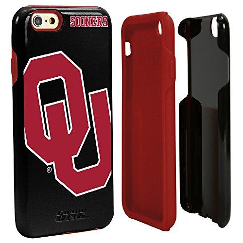 NCAA Oklahoma Sooners Hybrid IPhone 6 Case, Black, One Size
