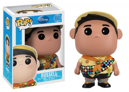 Funko POP Disney Series 5: Russell Vinyl Figure (Disney Villain Costume)