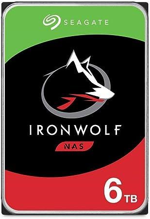 Seagate Ironwolf 6 Tb Hdd Nas Interne Festplatte 3 5 Computer Zubehör