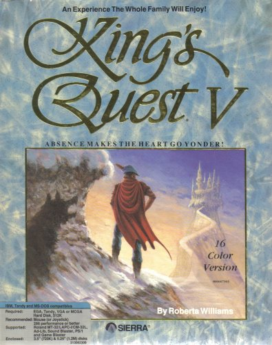King's Quest V ~ 3D Animated Adventure Game [ MS-DOS ] [ 3.5