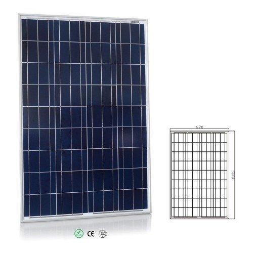 Cargador solar 100 wp m/ódulos solares y reguladores de carga steca solar 8a Offgridtec 2640 12 v sistema solar