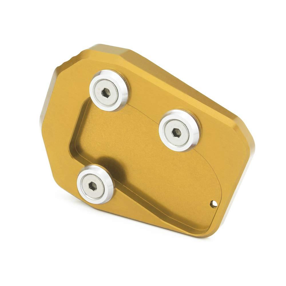 heinmo motocicleta lateral soporte de ampliar soporte pie caballete con funci/ón atril para Yamaha MT09/MT-09/MT 09/2013/ /2015/2013/2014/2015