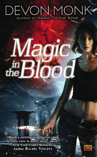 book cover of Magic In the Blood