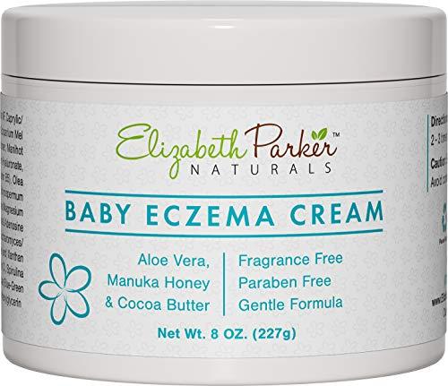 Baby Eczema Cream for Face & Body - Organic Baby Eczema Crea